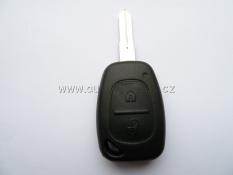 Klíč  RENAULT MTKA 2 tlačítka ID46 433MHz