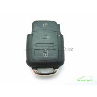 Klíč SEAT obal dálkové ovládání 3 tlačítka