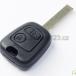 Klíč CITROEN obal 2 tlačítka HU83
