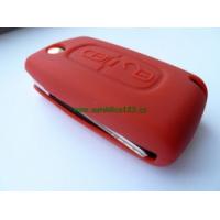 Silikonový obal PEUGEOT 2 tlačítka červený