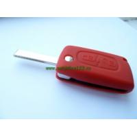 Silikonový obal klíče CITROEN 2 tlačítka červená