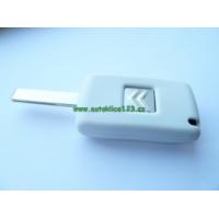 Silikonový obal klíče CITROEN 2 tlačítka bílá