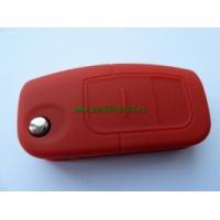 Silikonový obal klíče FORD 3 tlačítka červená