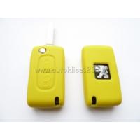 Silikonový obal PEUGEOT 2 tlačítka žlutý