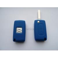 Silikonový obal klíče CITROEN 2 tlačítka tmavě modrá
