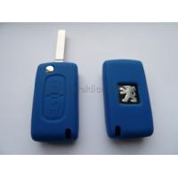 Silikonový obal PEUGEOT 2 tlačítka modrý