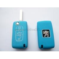 Silikonový obal CITROEN 3 tlačítka modrá