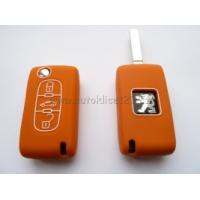Silikonový obal CITROEN 3 tlačítka oranžová