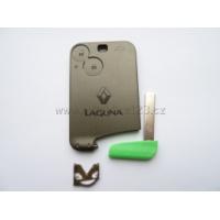 Auto klíč karta RENAULT LAGUNA 2 tlačítka