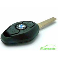 Klíč BMW koso (diamant) 3 tlačítka, HU92, 433Mhz, EWS