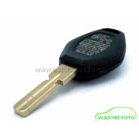 Náhradní obal klíče BMW diamant 3 tlačítka, planžeta HU58