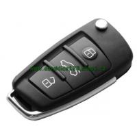 Klíč AUDI A6, A8, TT obal, 3 tlačítka