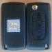 Klíč CITROEN C4,C6 s čipem a dálkovým ovládáním