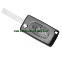 Auto klíč CITROEN s čipem a dálkovým ovladačem